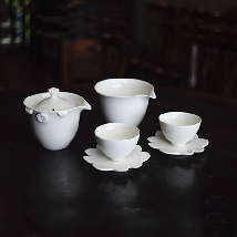 Golden Flower Teaware set