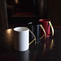 Mattock Handle Mug - Golden Holder