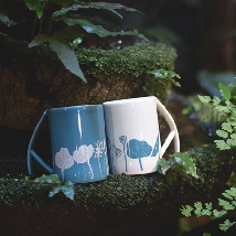 Mattock Handle Mug - Lotus