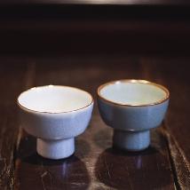 Ru Ware Goblet Teacup (L)