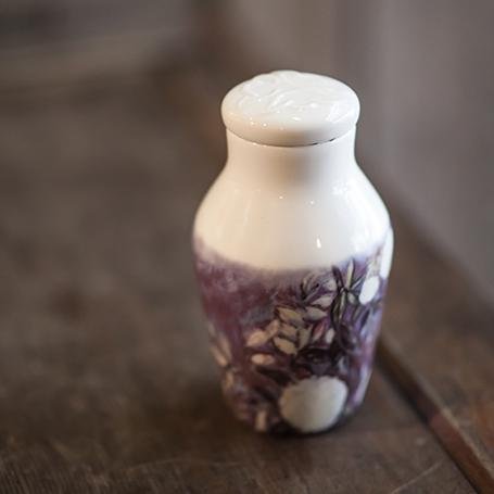 花瓶型茶入