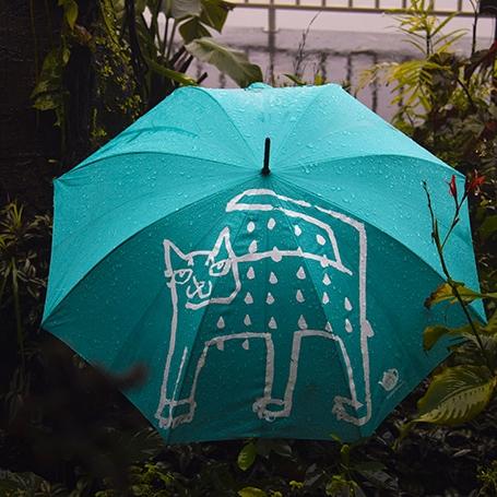 Umbrella : Raining Cat