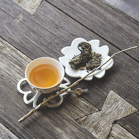 2013年プーアール美人餅茶